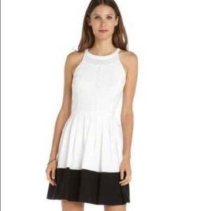 Ali Ro Color Block Dress in Optic White-NEW-Sz 6
